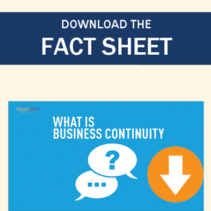 What is Business Continuity Factsheet