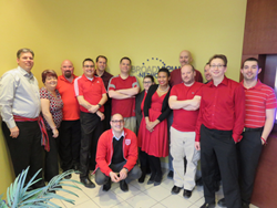 Broadview Networks - Wear It Red Day for Heart & Stroke Awareness - Febr