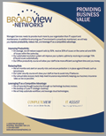 Broadview Providing Business Value Brochure